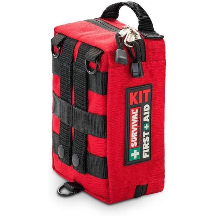 TROUSSE DE SECOURS Trousse de premiers soins portable en tissu Oxford &eacutetanche Sac de premiers secours d'urgence et de sur528