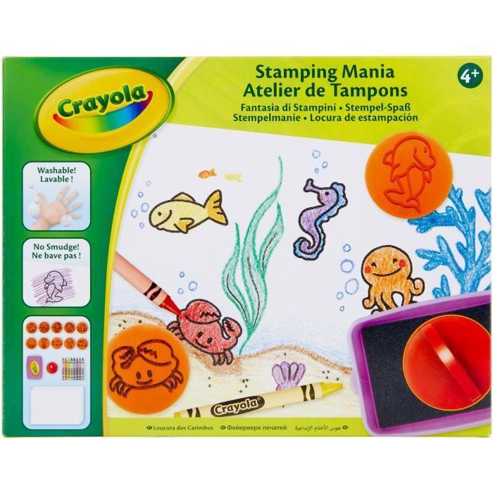 CRAYOLA Atelier de Tampons