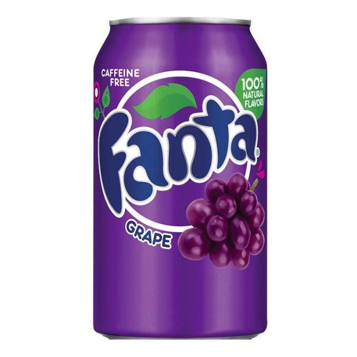 Fanta - Fanta Raisin 35,5cl (pack de 12)