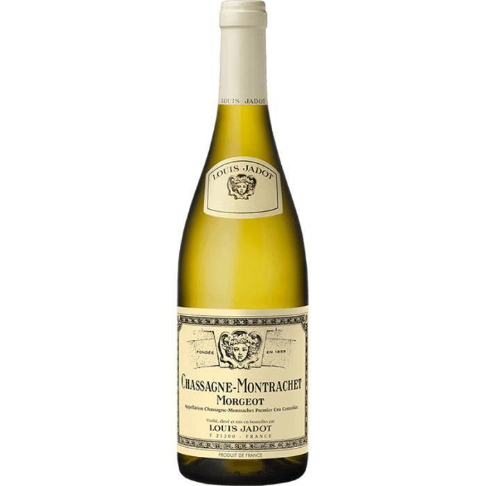Louis Jadot - Chassagne-Montrachet - Abbaye de Morgeot - Vin Blanc - 2015 - 75cl