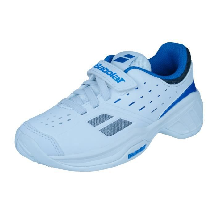 Babolat Pulsion Kid Chaussures de tennis pour enfants Blanc 10K