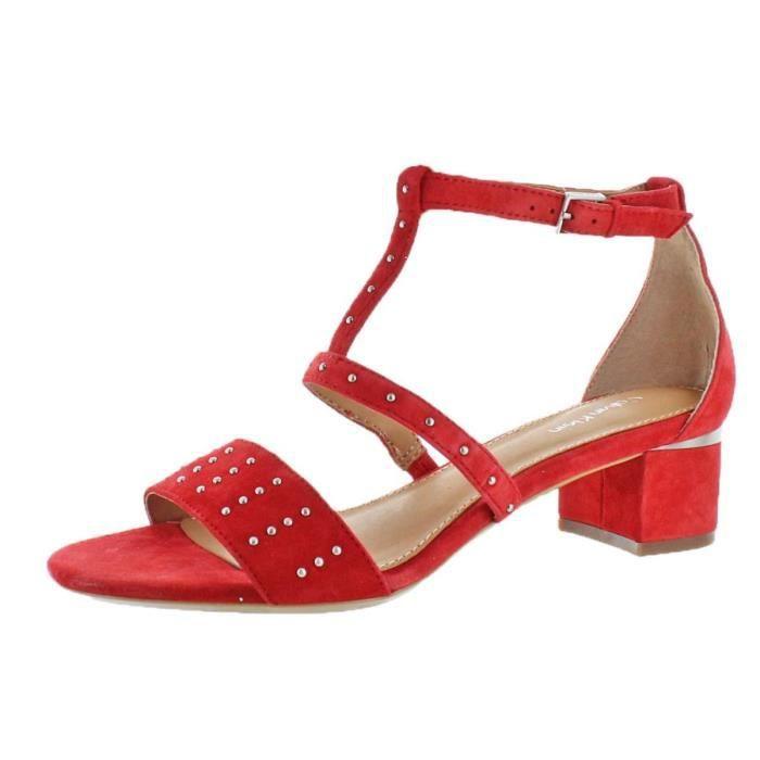 Calvin Klein Women's Divina Open Toe Ankle Strap D-orsay Pumps ZGWKX Taille-38 1-2
