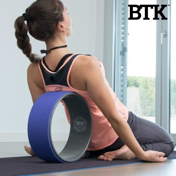 Roue de Yoga et Pilates BTK