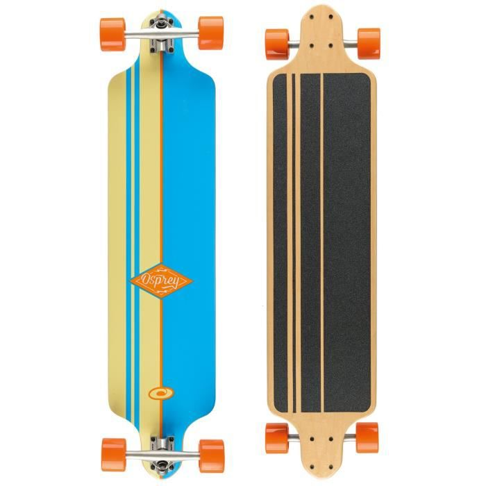 Osprey Thirty Eight Drop Down Longboard Mixte Adulte, Bleu, 41,25`` - SK0010