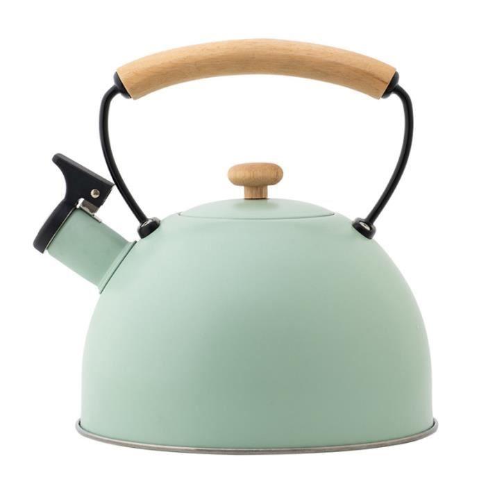 1 pc Portable Utile Durable Poignée En Bois Bouilloire Théière bouillie pour l'extérieur BOUILLOIRE ELECTRIQUE