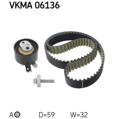 KIT DE DISTRIBUTION SKF VKMA 06136