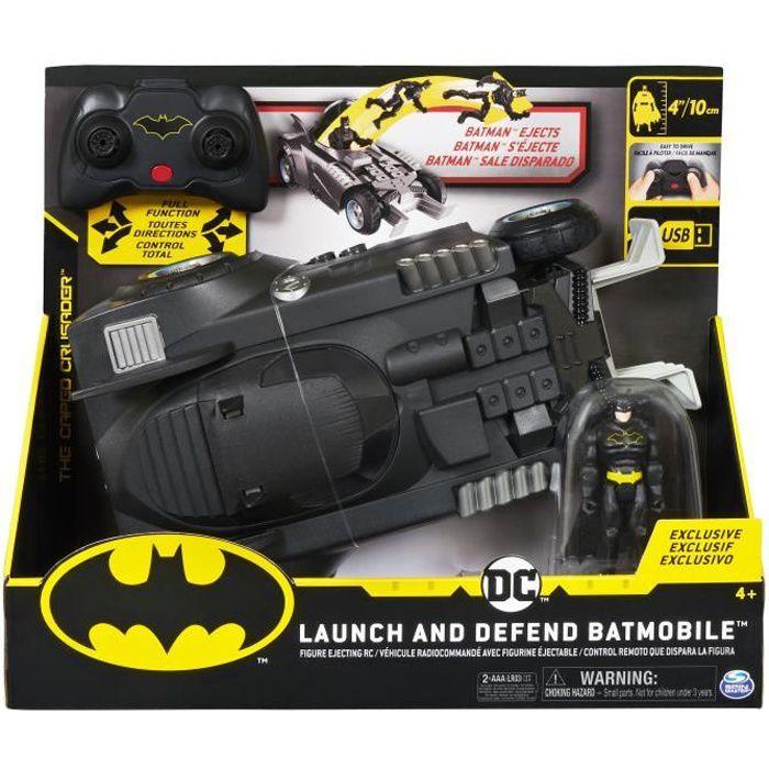 DC COMICS BATMAN - BATMOBILE RC deluxe - 6055747 - Voiture Véhicule radiocommandée