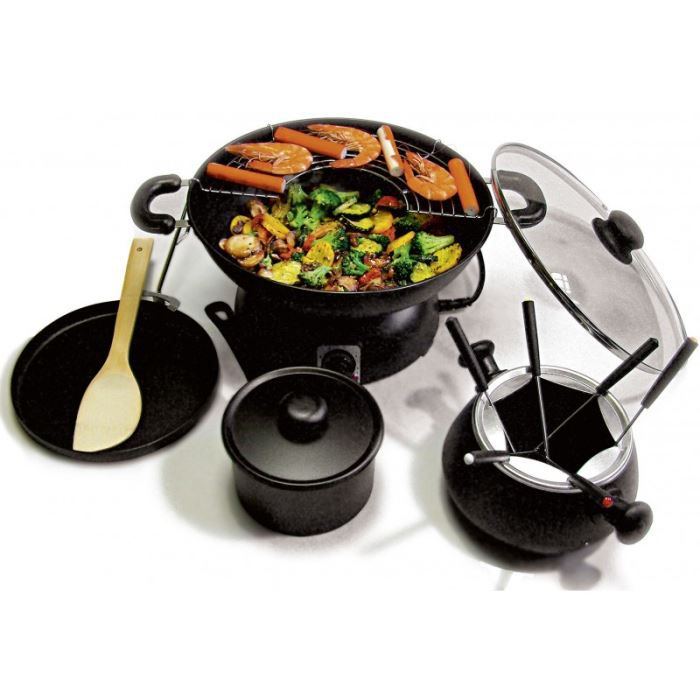 super party wok 5 en 1 akor achat vente wok tajine