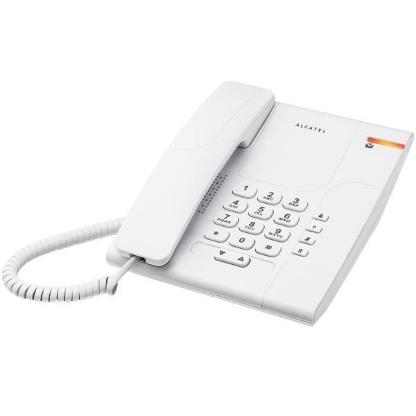 Téléphone fixe Alcatel Temporis 180 blanc