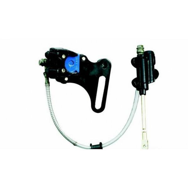 Double Fil de Câble droit levier de frein pour ATV Quad Go Kart MX Pit Dirt Bike NEUF