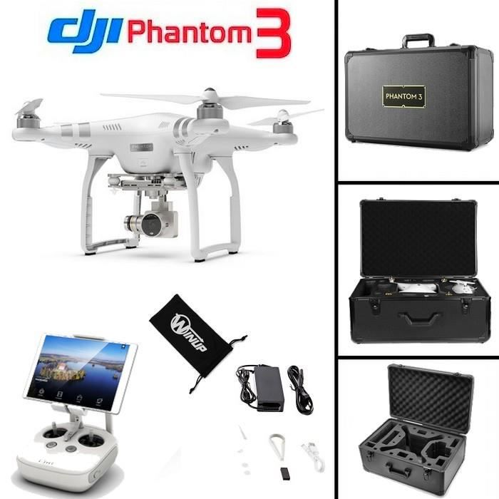 drone dji phantom 3 advanced mallette pro alu winup achat vente drone cdiscount. Black Bedroom Furniture Sets. Home Design Ideas