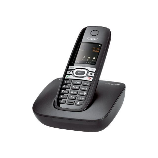 siemens t l phone sans fil gigaset cx610 isdn achat. Black Bedroom Furniture Sets. Home Design Ideas