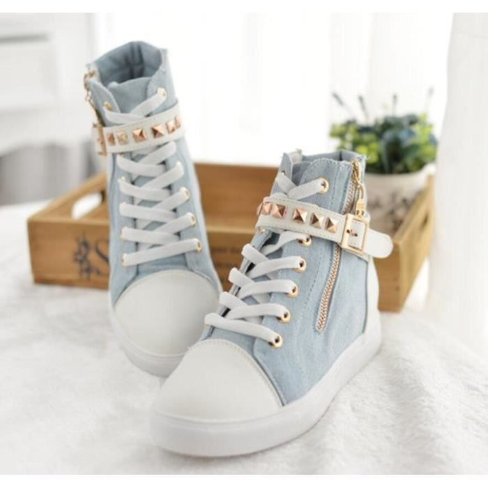 Floral Spring New Style High Top Spartan Women ...