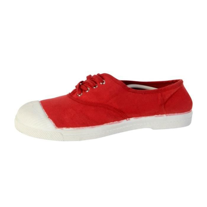 Tennis Lacet Bensimon 310 Rouge