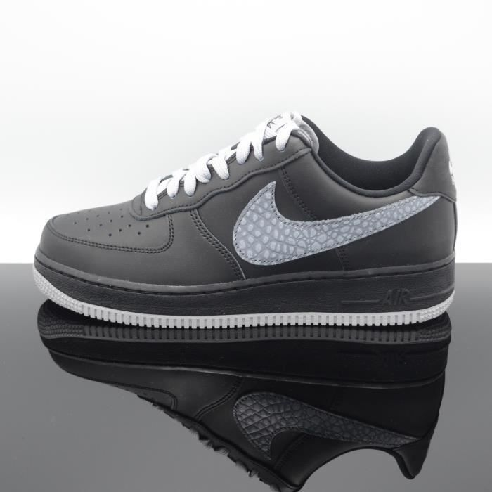 BASKET NIKE Air Force 1 07 lv8 Noir/Gris Homme 823511-012