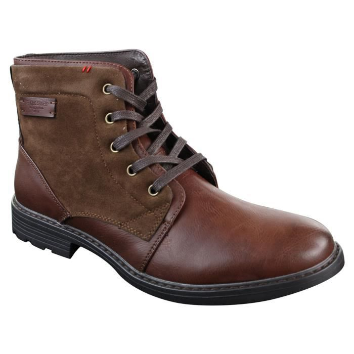 NEUF sendra Boots Chaussures Hommes Bottines Bottes Hommes Bottes Chaussures en cuir