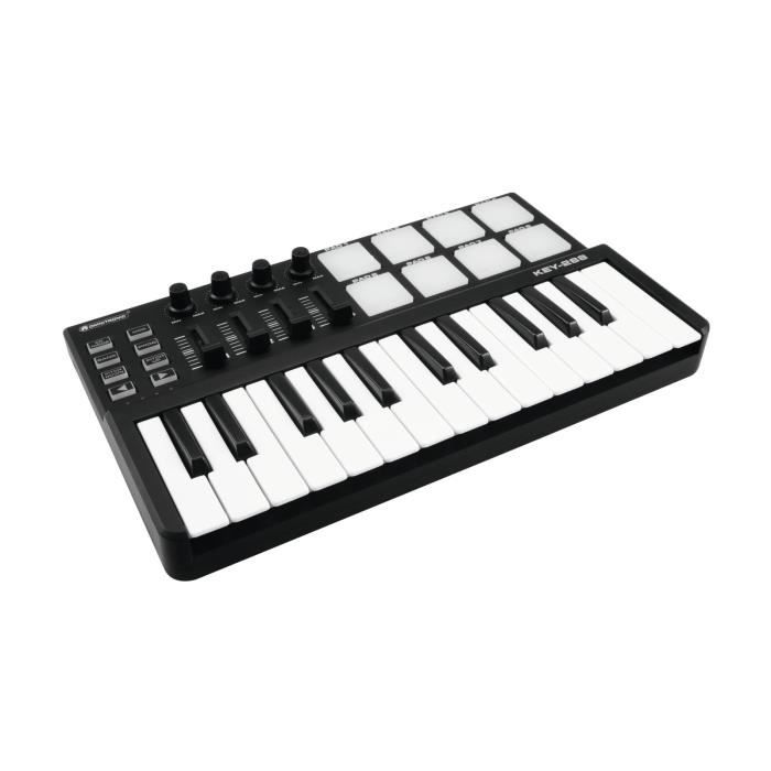 controleur dj midi key 288 midi controller boitier effet. Black Bedroom Furniture Sets. Home Design Ideas