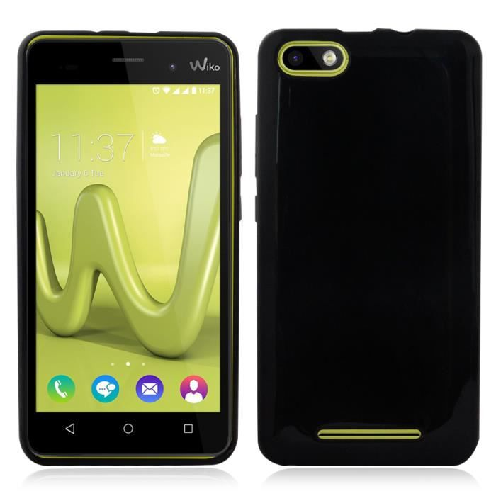 pour wiko lenny 3 coque tpu silicone gel souple ultra. Black Bedroom Furniture Sets. Home Design Ideas