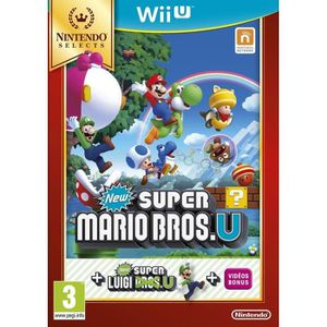 JEUX WII U New Super Mario Bros.U Select Jeu Wii U
