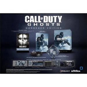 JEU PS3 Call Of Duty Ghosts Hardened édition PS3