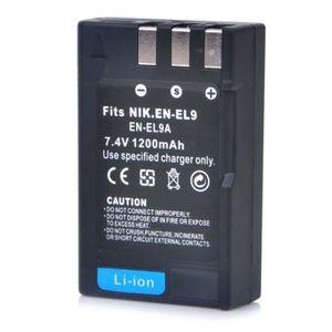 BATTERIE APPAREIL PHOTO EN-EL9 Haut puissance 1200mAh Pack de batterie  po