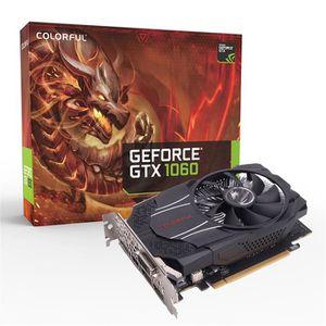 CARTE GRAPHIQUE INTERNE  Coloré GTX1060 mini OC 6G GDDR5 192Bit PCI Expres