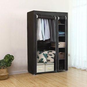 ARMOIRE DE CHAMBRE Armoire penderie meuble de rangement dressing 110*