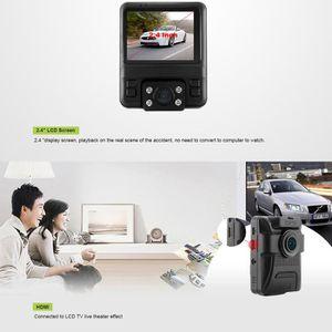 BOITE NOIRE VIDÉO Tableau de bord de voiture Caméra 1080P avant et 7