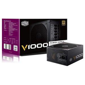 ALIMENTATION INTERNE Cooler Master V1000 Alimentation PC 'Modulaire Com