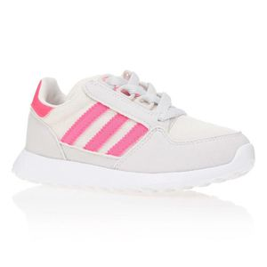 newest 07cd4 6cb94 BASKET ADIDAS Baskets Forest Grove - Enfant fille - Blanc