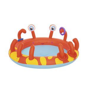 AIRE DE JEUX GONFLABLE BESTWAY Aire de jeux interactive Crabe - 165 x 150