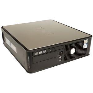 UNITÉ CENTRALE  Dell Optiplex 780 SFF - Windows 7 - CD 4GB 160GB -
