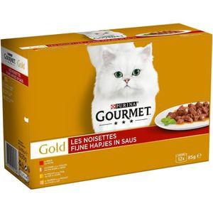 BOITES - PATÉES GOURMET Gold Les noisettes - Boîtes - Pour chat ad