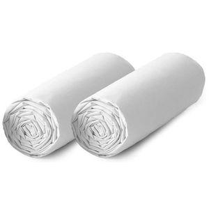 DRAP HOUSSE TODAY Lot de 2 draps housse 100% coton - 160x200 c