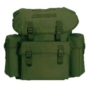 BESACE - SAC REPORTER SAC A DOS / BESACE 25 LITRES VERT OLIVE