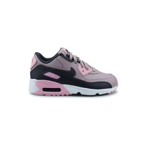 BASKET Baskets Nike Air Max 90 Ltr Enfant Rose.