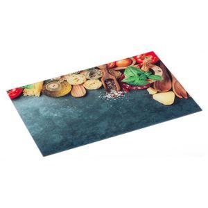 PLANCHE A DÉCOUPER Secret de Gourmet - Planche à découper en verre It