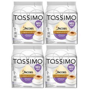CAFÉ TASSIMO Jacobs Cappuccino Choco 32 Dosettes