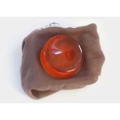 Geipel 2100 - Colophane transparente violon & violoncelle dans peau de chamois