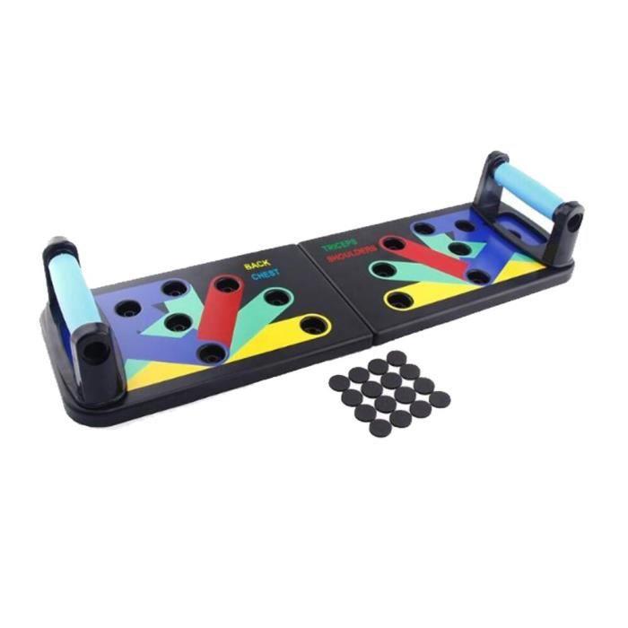 barre pour traction -Pousser le panneau de support pliable multifonctionnel pousser...- Modèle: Push Up Rack Board - ZOAMFWZDA06977
