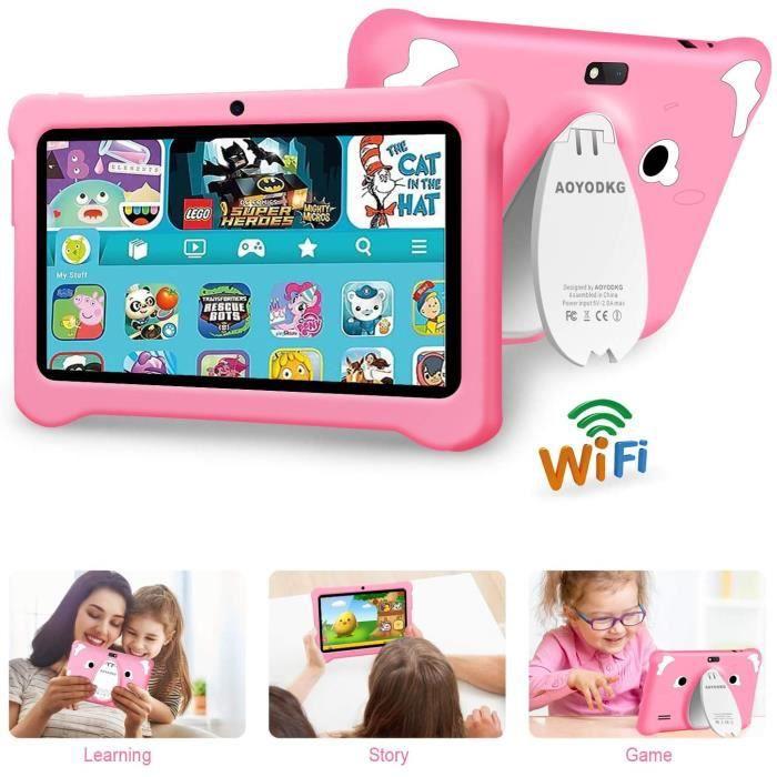 Tablette Enfant,Tablette Enfant 7pouces , IPS Android 10.0 Certifié par Google GMS , Tablette pour Enfant 3Go RAM +32Go ROM-128 Go