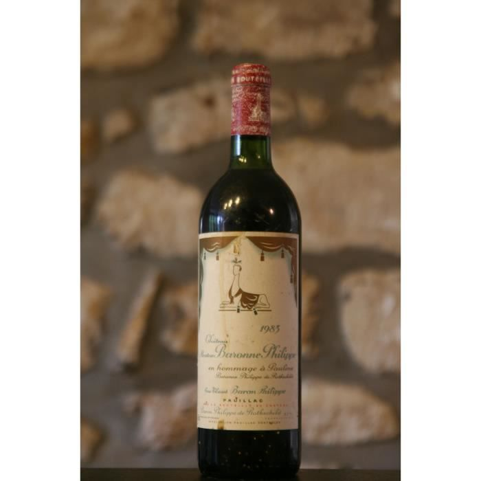 Chateau Mouton Baronne Philippe 1983 Rouge
