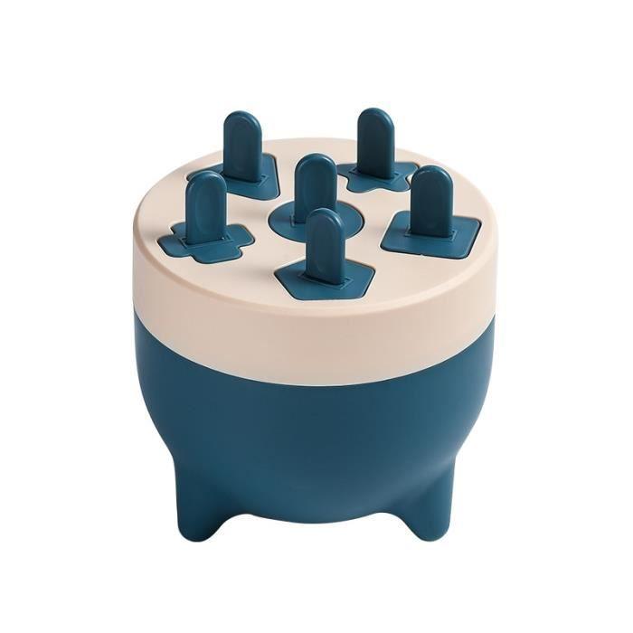 Ice Cream Sorbets Mold-crème glacée-Glaçons fait maison Ice Cube Ice Box Frozen Ice Cube bleu