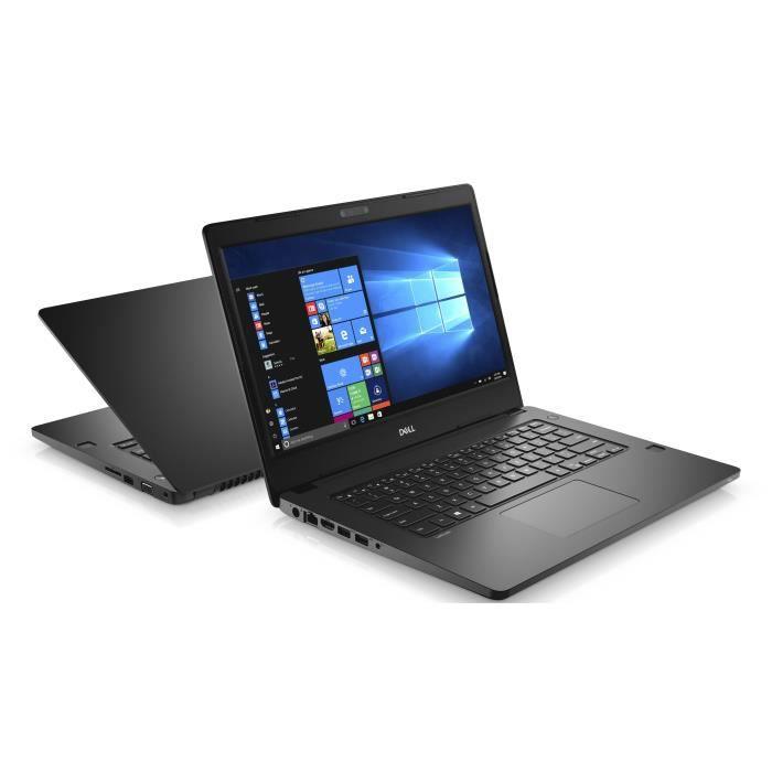 Pc portable Dell 3480 - i5-6200U - 4Go - 500Go HDD - Windows 10