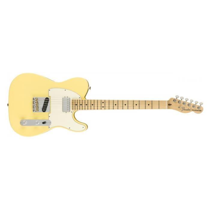 American Performer Telecaster + housse deluxe - touche érable - Vintage White - guitare électrique