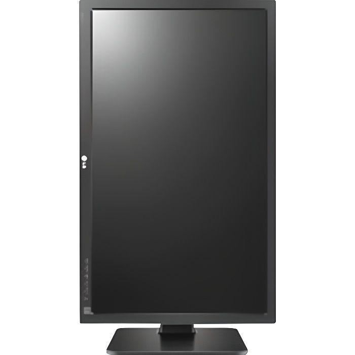 LG 22BK55WV-B Écran LED 22- 1680 x 1050 WSXGA+ TN 250 cd-m² 1000:1 5 ms HDMI, DVI-D, VGA haut-parleurs anthracite foncé