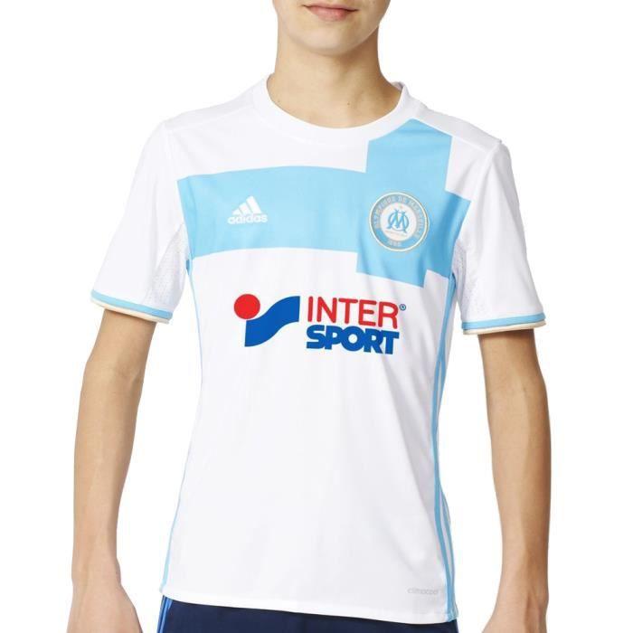 Marseille Adidas Maillot domicile Olympique de Marseille saison 2016-17 Jr