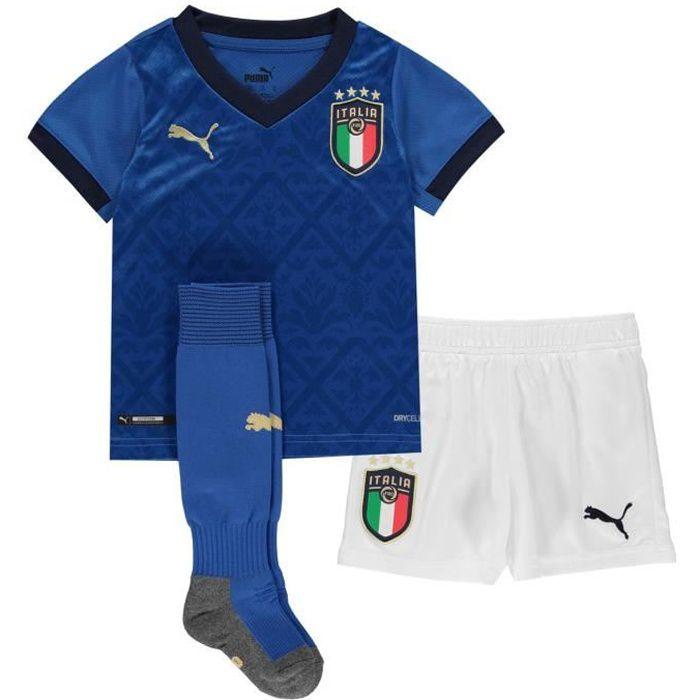 Puma Italy Home Équipe De Football 2020 Enfants