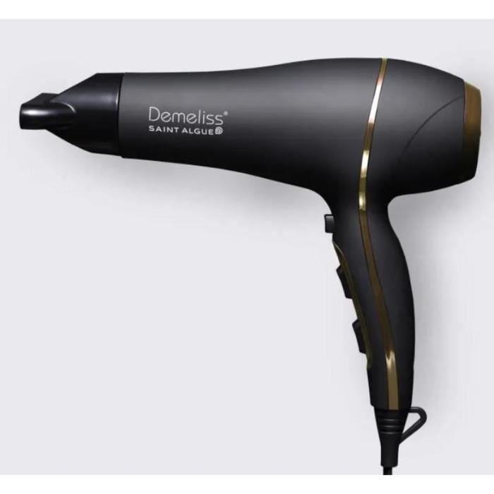 SAINT ALGUE - Sèche-Cheveux Demeliss ULTRA 2200 - DC 2200W tourmaline ionique