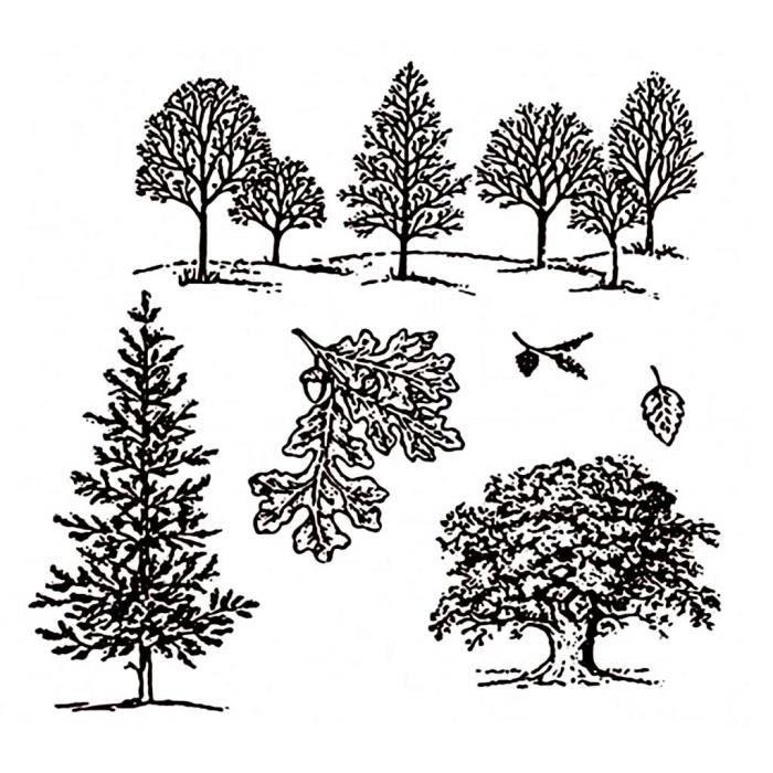 Dies Pochoir pour arbres DIY de coupe DIY Scrapbooking d'embossage carte Décor NEUF